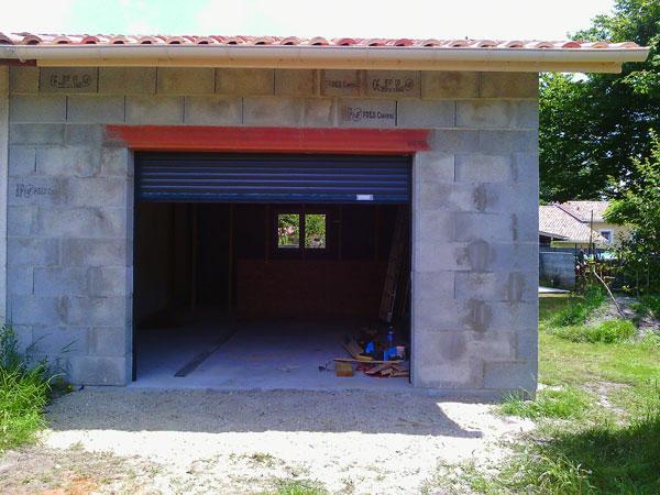 Garage attenant ecotech construction for Garage 40m2
