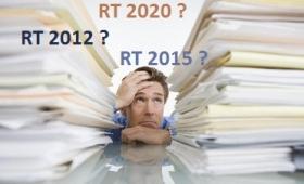 Le point sur les RT 2012, RT 2015 et RT 2020