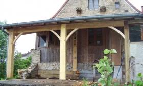 Rénovation appentis bois