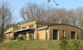 Maison Bois en Périgord Blanc