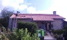 Rénovation de toiture – La Chapelle Pommier (24)